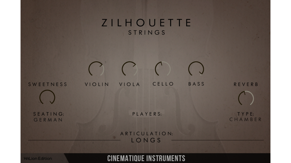 Zilhouette Strings: Orchestral string sounds | Steinberg