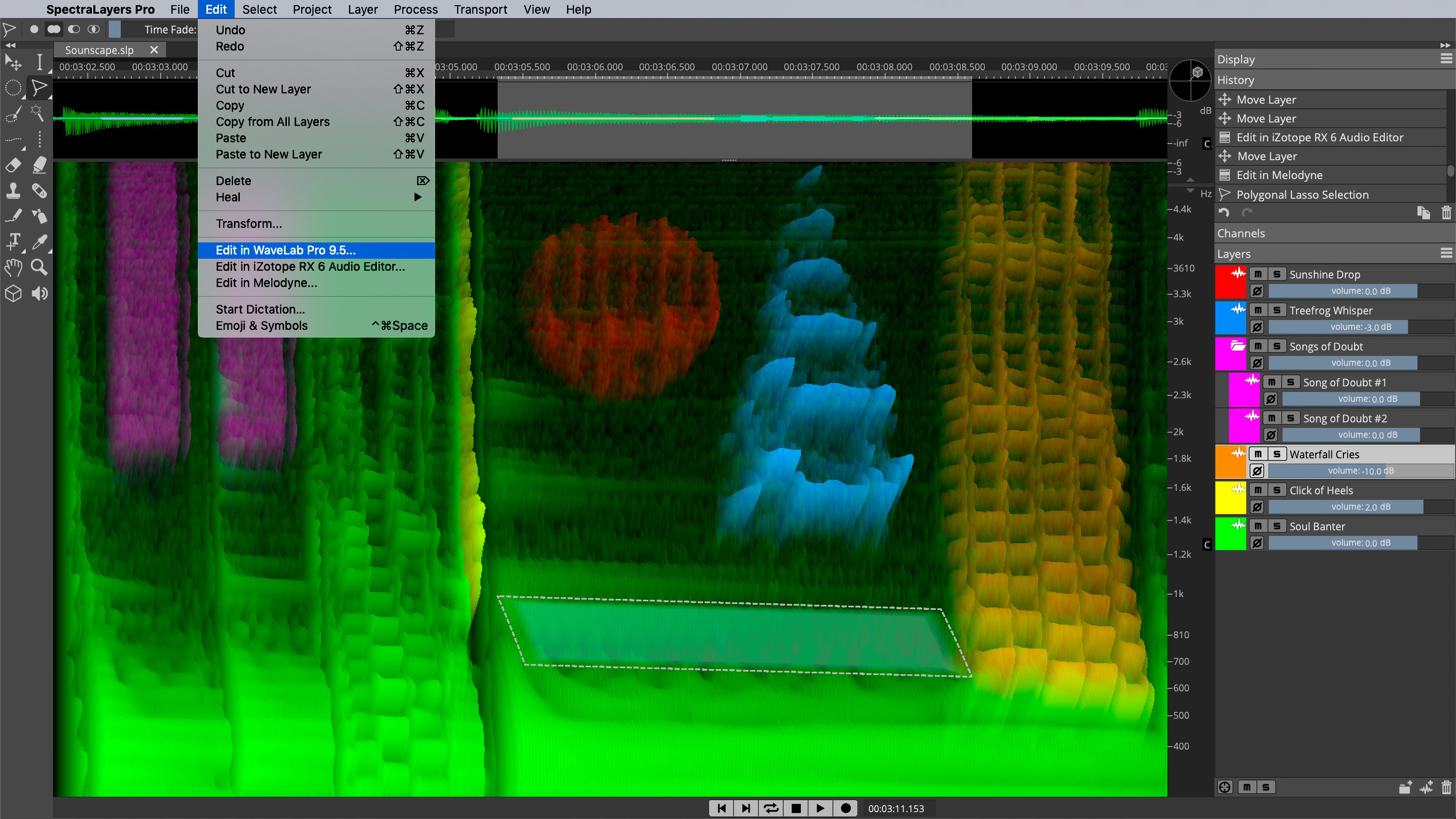 SpectraLayers: Advanced Spectral Editor | Steinberg